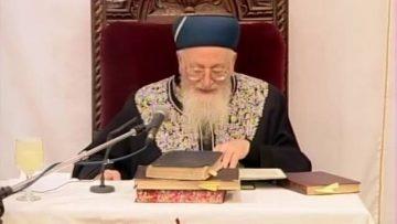האנשים הדרים בארץ ישראל הרב מרדכי אליהו
