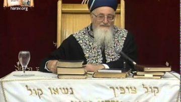 בלק מקללה לברכה הרב מרדכי אליהו