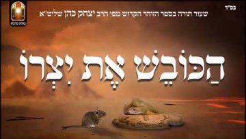 הכובש את יצרו – שיעור תורה בספר הזהר הקדוש מפי