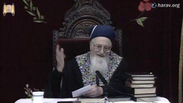 173 הלכות שמיטה וחנוכה פרשת ויצא ז כסליו תשסא מרן