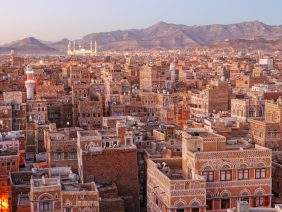 Morning view on Sanaa