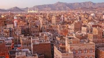 Morning view on Sanaa