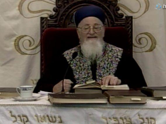 232 הלכות שבת זכור ופורים פרשת תצוה ו' אדר תשסב