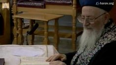235 הלכות בדיקת חמץ פרשת ויקרא כז' אדר תשסב מרן