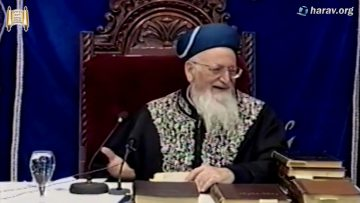 """הרב מרדכי אליהו זצוק""""ל מספר על תקופת דיינות בבאר שבע"""