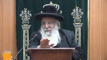 הרב בניהו שמואלי פרשת שמות תשעט