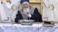 סיפור מיוחד על פגישתו של הרב מרדכי אליהו עם ראשי
