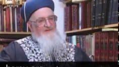 מרן הרב מרדכי אליהו זצוק