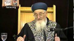 פרשת נח | חטא דור המבול | מרן הרב מרדכי