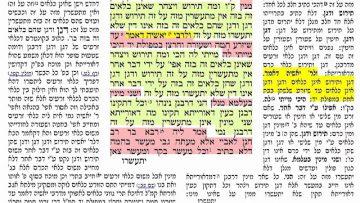 הדף היומי מסכת בכורות דף נ״ד 54 Bechorot daf 54 Daf Yomi