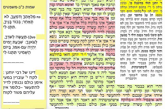 הדף היומי מסכת בכורות דף נו 56 Daf yomi  Bechoros daf 56