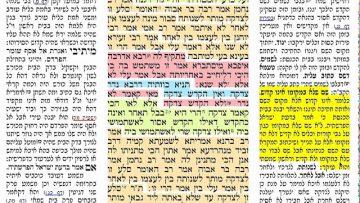 הדף היומי מסכת ערכין דף ו Daf yomi Arajin pagina 6