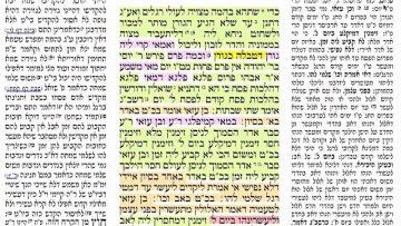 הדף היומי מסכת בכורות דף נח Daf yomi Bechorot Daf 58