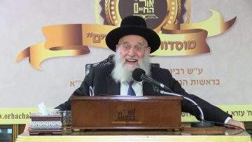 הרב ראובן אלבז - פרשת שמות - ויקום מלך חדש!